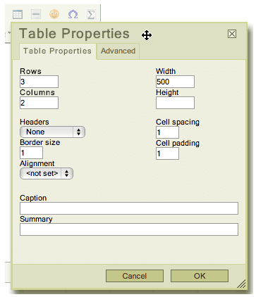 Steps to Making Accessible Tables
